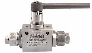 Autoclave Engineers Ball Valve - 2Way