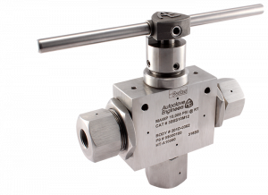 Autoclave Engineers Ball Valve - 3Way