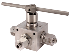 Autoclave Engineers Ball Valve - 4Way