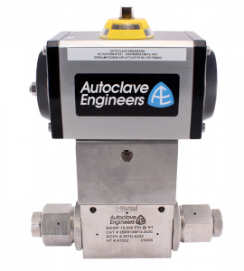 Autoclave Engineers Ball Valve - Actuators