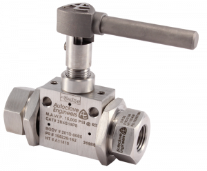 Autoclave Engineers Ball Valve - Sub Sea