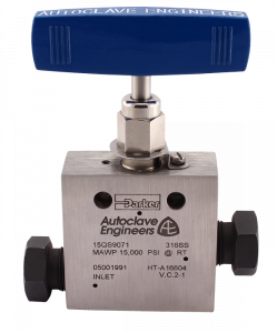 Autoclave Engineers Needle Valves - 15K PSI Series