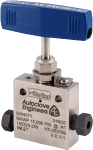 Autoclave Engineers Needle Valves - Low Pressure