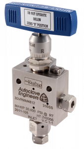 Autoclave Engineers Needle Valves - VRMM MicroMeter