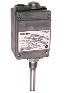 Barksdale ML1H & L2H Series Temperature Switches